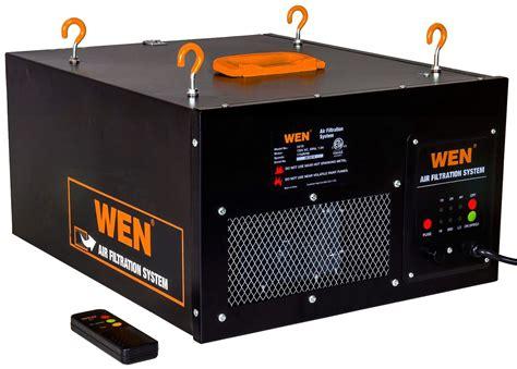 air filtration system wen 3410 3 speed remote controlled air filtration system ebay