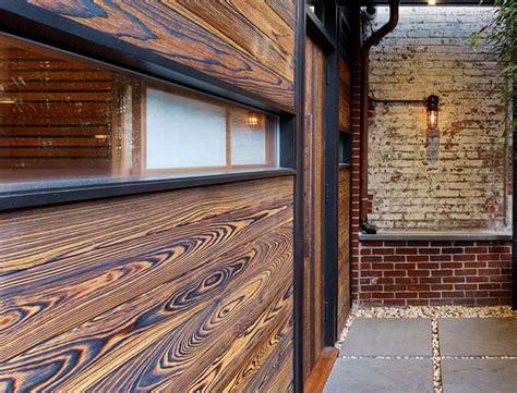 Burning Wood Siding To Preserve - shou sugi ban burnt wood siding green home guide ecohome