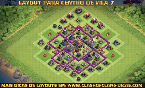 layout atualizado cv 7 layouts de cv7 para clash of clans