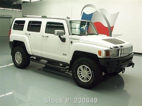 H3 Hummer Roof Rack by Purchase Used 2007 Hummer H3 4x4 5 Speed Side Steps Roof