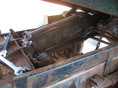 Truck Bed Bench Dump Bed Hydraulic Cylinder Nicholas Fluhart