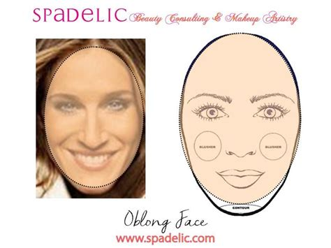 how to round a rectangular face with a haircut highlight contour for oblong face spadelic makeup