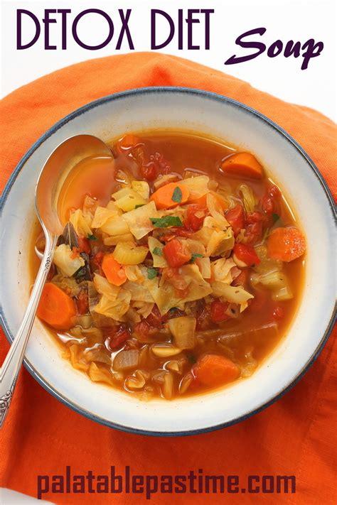 Detox Juice And Soup Diet by Detox Diet Soup