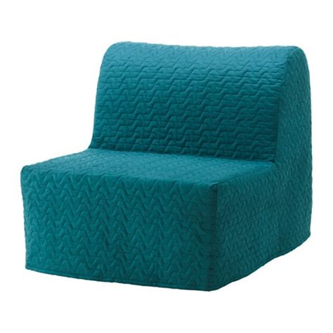 ikea sofa bed cover lycksele lycksele l 214 v 197 s chair bed vallarum turquoise ikea