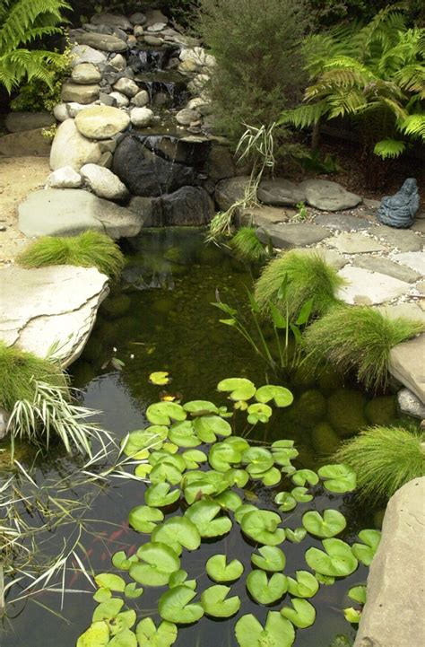 beautiful small pond design to complete your home garden beautiful garden pond waterfalls design ideas