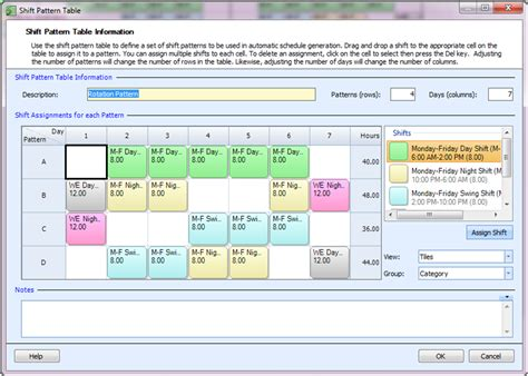 employee shift schedule employee shift schedule template