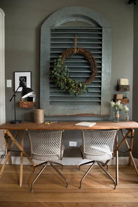 magnolia home decor office a girl s gotta have her space on pinterest