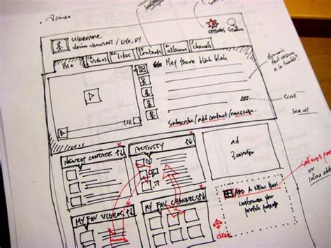 sketchbook website design 33 great exles of web design sketches designbeep