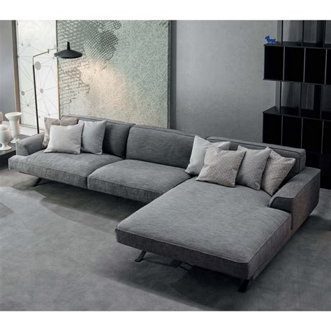 ottomane chaiselongue slab modernes sofa mit chaiselongue arredaclick