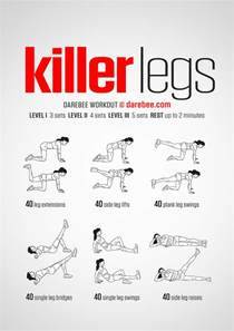 killer legs workout
