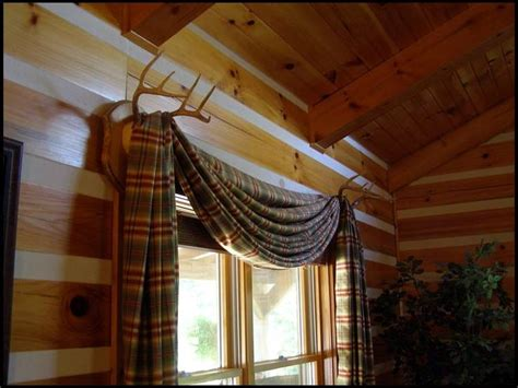 Living Room Curtain Holder Deer Antler Curtain Rod Holders Search