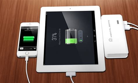 Power Bank Advance 10 000mah mental beats 10000mah power bank groupon goods