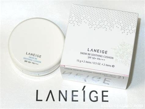 Laneige Bb Cushion Di Sogo review pengguna laneige snow bb soothing cushion