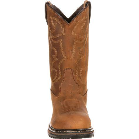 Country Boots Original 3 rocky s original ride waterproof steel toe western boot