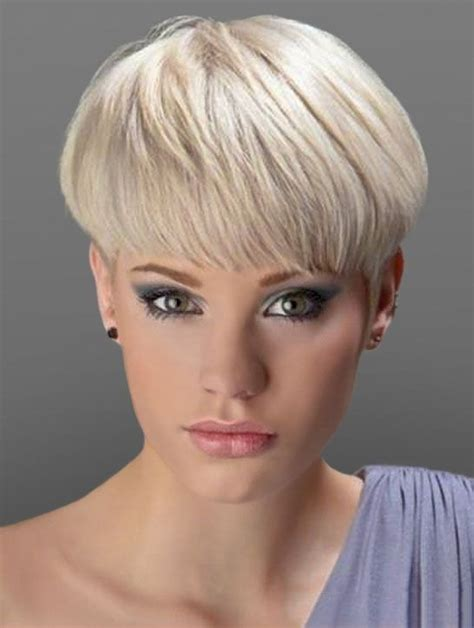 wedge cut for thick hair short wedge hairstyles bing images hair pinterest