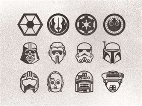 simple star wars tattoos wars finger tattoos shortlist