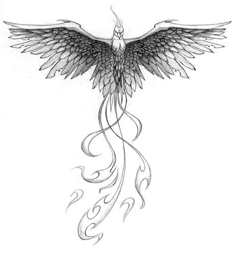 pheonix tattoos pheonix design by patrickbrown on deviantart