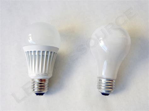 Lu Led Bulb 4x ecosmart 9w led a19 bulb bright white 3000k dimmable