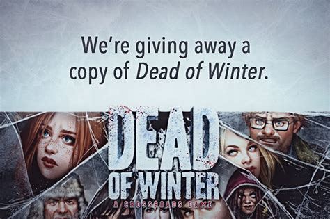 Winter Giveaway - dead of winter giveaway the league of nonsensical gamers