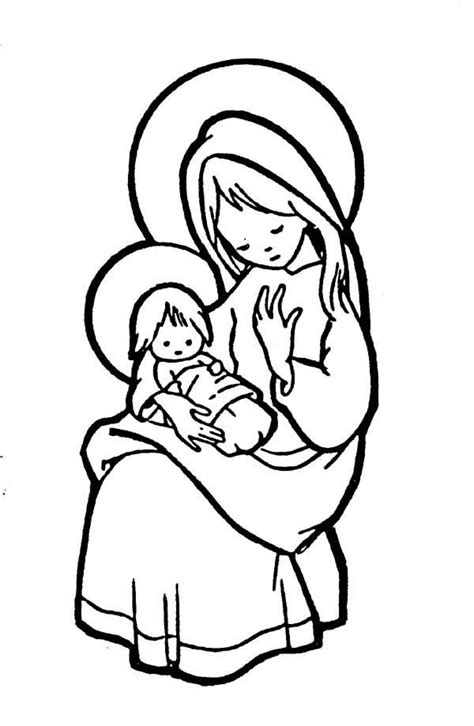 catholic coloring pages for kindergarten mary pondered these things in her heart catholic coloring