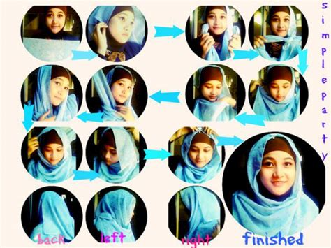 tutorial hijab mama amy hijab paris simpel saat ke pesta dream co id