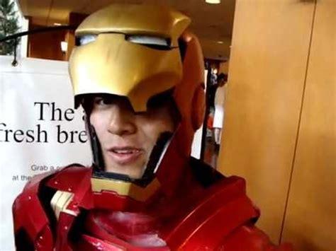 quick cool iron man costume desu