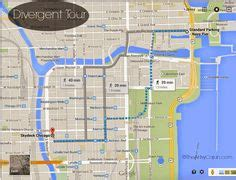 divergent chicago map chicago location divergent and divergent factions on