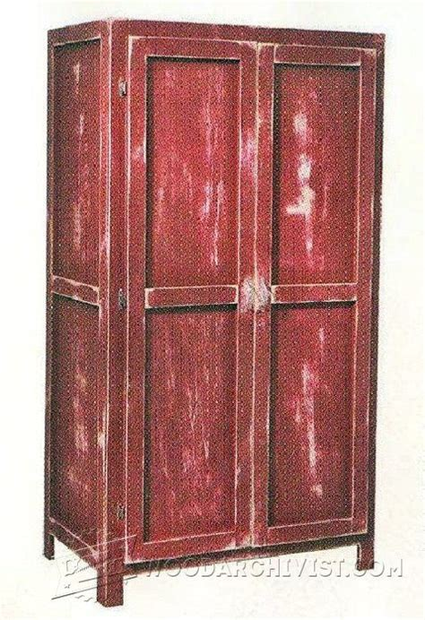 simple wardrobe plans furniture plans  projects