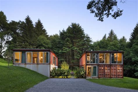 quik house the quik house adam kalkin s shipping container prefab green home in califon