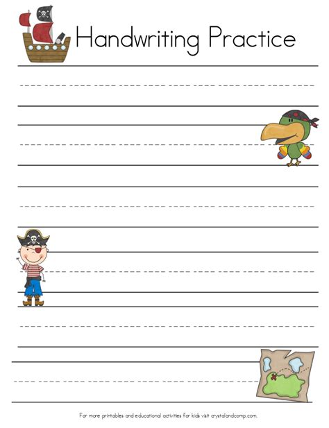 kindergarten writing practice worksheets worksheet