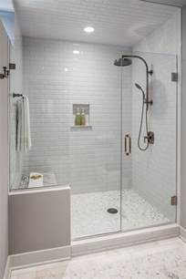 Bathroom Glass Shower Ideas shower area that was dated and confining a new frameless glass shower