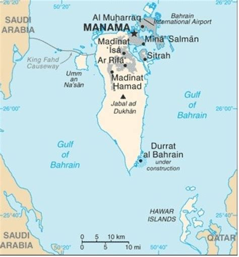 middle east map bahrain state department issues travel alert for bahrain middle
