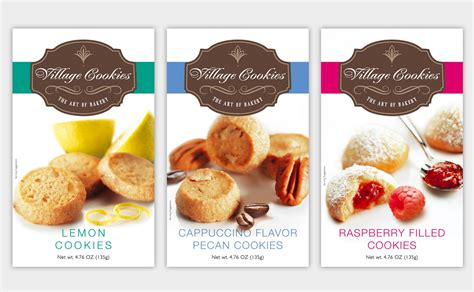design label cookies efrat elie private label cookies logo package design