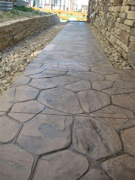 concrete patios denver custom decorative concrete patio