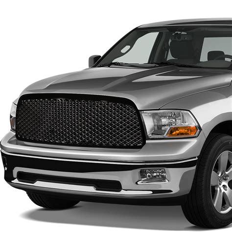 dodge grill 2009 2012 dodge ram mesh style front grill grille black