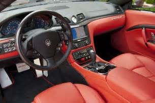 Interior Of Maserati Car Picker Maserati Granturismo Sport Interior Images