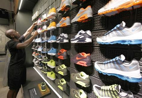 nike shoe store nike gives its 2 decade chicago flagship store a