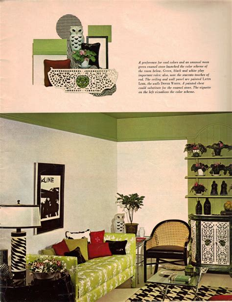 Home Movie Room Decor 1960s Decorating Style 16 Pages Of Painting Ideas From