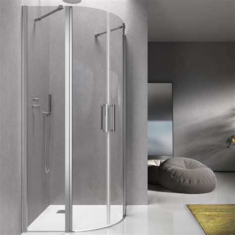 box doccia 80x80 cristallo box doccia 80x80 cm semicircolare 195h cm in cristallo