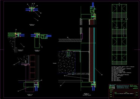 curtain wall section dwg curtain wall section detail drawing curtain menzilperde net