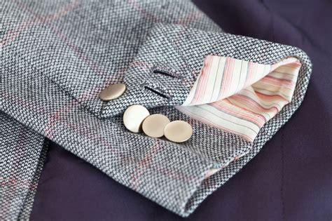 Handmade Buttonholes - handmade buttonholes and sleeve lining