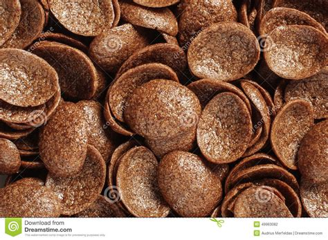 coco crunch cocoa crunch cornflakes abstract texture background stock