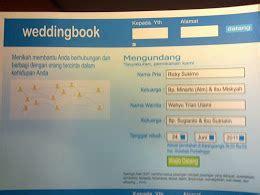 Jual Undangan Pernikahan Lucu 6 contoh undangan pernikahan unik dan lucu majalah