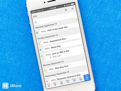 Calendars 5 Review Calendars 5 For Ios Review Combine Your Calendars And