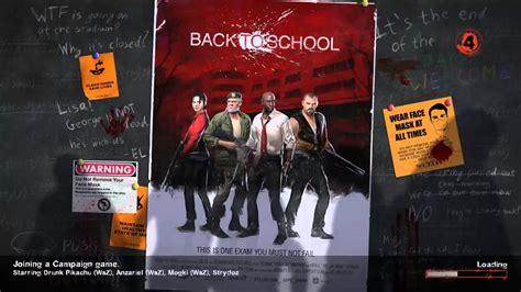 l4d2 maps l4d2 maps back to school teaser