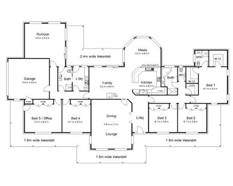 australian home plans floor plans the 25 best australian house plans ideas on pinterest 5