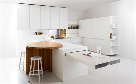 Space Saving Kitchen Islands Modern Kitchen With Space Saving Solutions Design Ideas