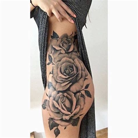 tattoo designs body side super cool thigh tattoo ideas for women pop tattoo