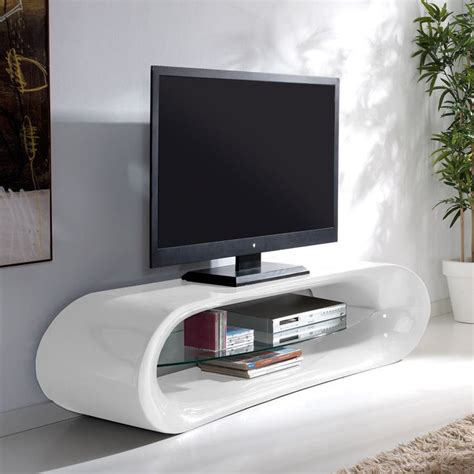 meuble tv en verre longueur 160cm prix promo