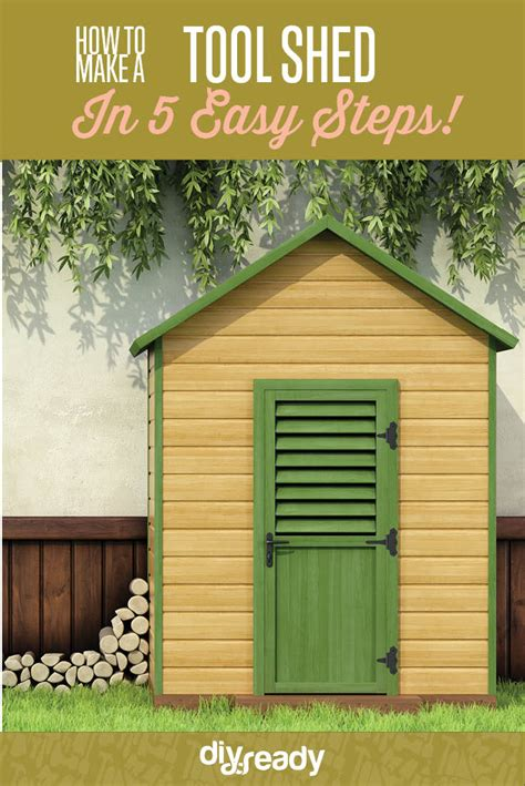 build  tool shed diy projects craft ideas